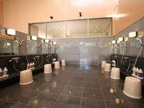 大浴場(山の湯)シャワーブース