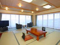 客室一例(新館・角部屋)広々とした清潔感あふれる和室をご用意しております。