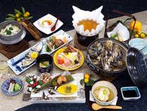 旬の牡蠣を思う存分堪能できる牡蠣会席 ※料理一例