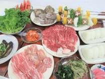 【BBQ】肉と野菜の饗宴!ヘルシー焼肉BBQプラン(選べる:卓上焼肉or野外BBQ))