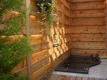 木の香かおる露天風呂