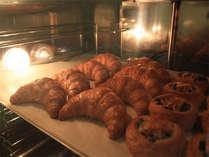 焼きたてパンがいい匂い♪と評判です◎