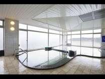 琵琶湖一望の展望大浴場