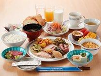 **ご朝食一例/種類豊富なメニュー!和洋食もどちらもお楽しみいただけます
