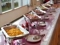 **ご朝食一例/種類豊富なメニュー!和食派・洋食派の方もどちらもお愉しみいただけます!