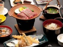 *ジューシーな福島牛陶板焼き&朝鮮人参土瓶蒸しを楽しめるひとつ上のグルメプランです☆