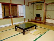 *【街側和室一例】お部屋から琵琶湖は見えませんが、のんびりお寛ぎいただけます。