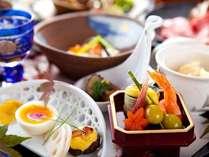 【懐石一例】四季の香りと彩りを、繊細で優しいお味にてお楽しみ下さい