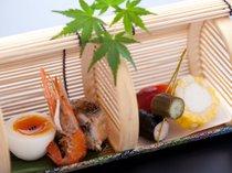 【御先付・前菜一例】夏の扉前菜