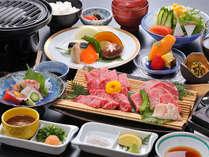 【冬季特別プラン】A5飛騨牛3種ステーキ&国産もつ食べ比べプラン