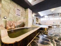 *【内湯浴場一例】地下数百メートルから湧き出る100%天然高品質ミネラルウォーターを使用