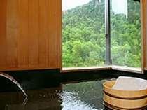 別館『四季』のお風呂は絶景が楽しめる窓付風呂(要問合せ)