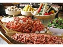 季節ごとに旬の食材を使用した和洋中バイキング