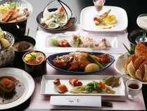 料理長おまかせの季節の味をご堪能下さい。(写真はイメージです)