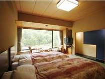 本館『彩花』和室ツインベッドタイプです