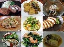 【ご飯お代わり自由】体にやさしい手作お料理1泊2食付
