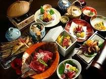お食事の一例です。季節によってお料理内容が変わります。