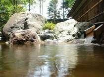 神代温泉、別名美人の湯。トロリとした泉質が自慢の自家温泉です。