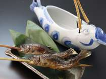 - 別注料理 - 岩魚の骨酒(2合)(要事前予約)(イメージ写真)