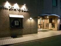 【ホテル正面玄関】