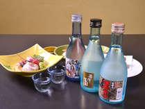*お夕食一例(日本酒)/選び抜かれた銘酒を取り揃えています。会席料理との相性抜群◎