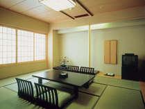 ホテルでは珍しい和室