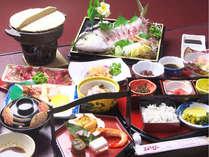 【マル得プラン】季節のお刺身を中心とした長崎郷土料理(お料理一例)