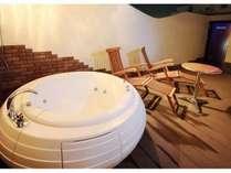 露天風呂の一例(様々なタイプをご用意しております)