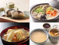 ◇朝食バイキングには、興福寺粕汁や柿の葉寿司など奈良名物もご用意!