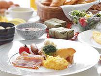 ◇朝食は和洋バイキング。奈良ならではの名物料理もご用意しています