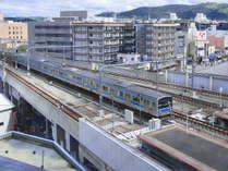トレインビュー・ラージツイン東側(普通電車)