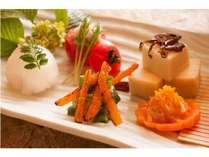 季節の懐石料理 前菜
