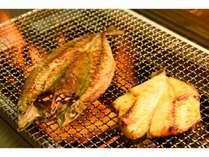旬の味覚♪炭火焼魚