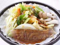 *【夕食一例】ホッケのちゃんちゃん焼