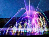 2020噴水イルミネーション「ヴェルサイユの光」
