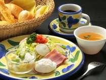 日替わりの朝食 洋朝食の全体イメージ