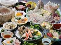 ◆特選玄海 海の幸会席◆鯛のしゃぶしゃぶも絶品!!