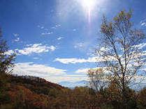 南アルプス連峰の雄大な景色!見上げると夜は満天の星空☆(実際はもっと近くに見えて皆様が感動されます♪)