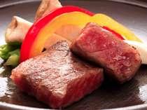 山形牛ステーキ例