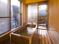【ロイヤルスイート】眺望がすばらしい内風呂