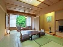 【本館12畳】趣のある重厚感のある和室