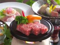【お料理】山形牛ステーキ一例
