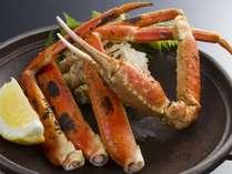 【追加料理】焼きずわい蟹(冷凍)半身2500円(税別)※要2日前予約