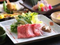 【料理】山形牛すき焼き一例