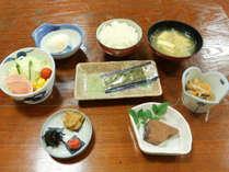 朝食一例/和朝食をご用意致します。旬の美味しい食材を使用して作ります。