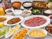 ◆料理長自慢のローストビーフがおすすの朝食ブッフェ