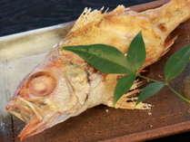 【広島県民限定】お料理無料アップグレード♪「のどぐろの塩焼き」付き♪島根に来たら絶対食べたいノドグロ