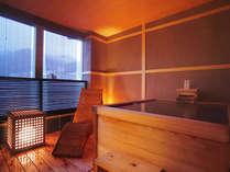 露天風呂付客室の画像