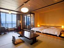 【セミスイート◇美湖の雫】露天風呂付客室。リーズナブルにご利用頂ける特別な一時。