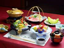 *【夕食一例】駿河湾の海の幸と季節の旬の素材を活かした月替わり和会席。